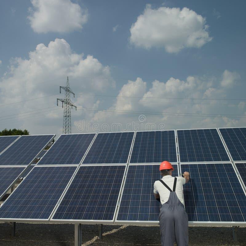 alternativ energi royaltyfri foto