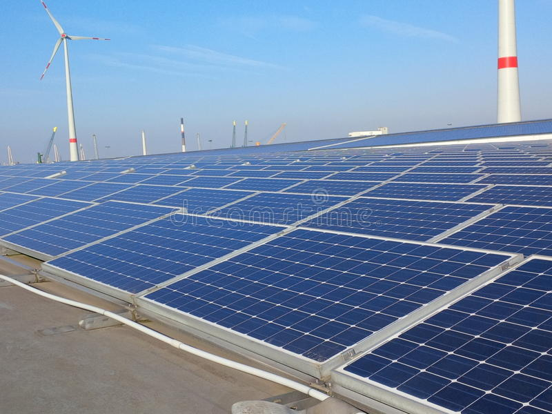alternativ energi royaltyfria foton