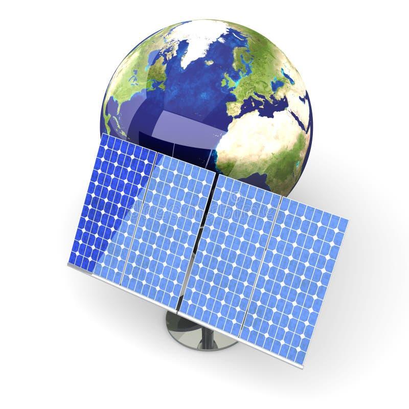 alternativ energi Europa vektor illustrationer