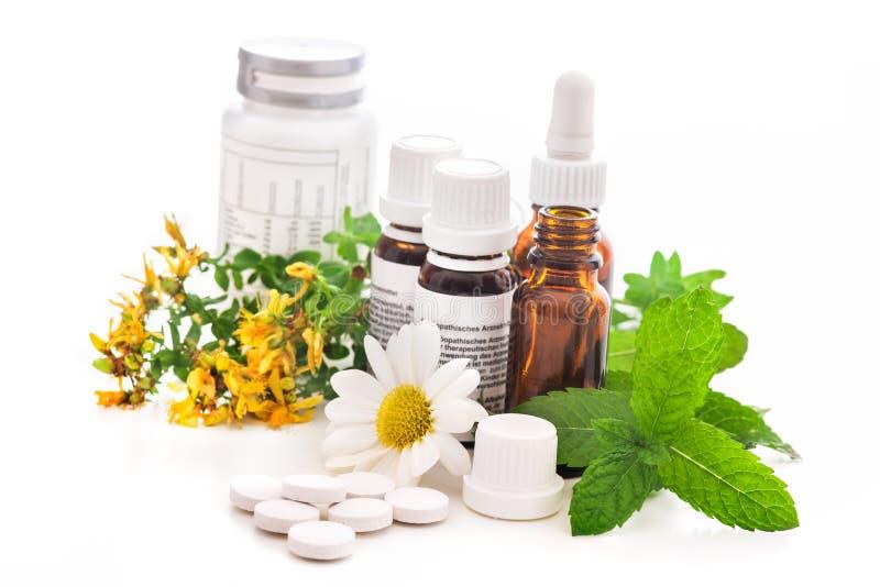 alternativ medicin royaltyfria bilder