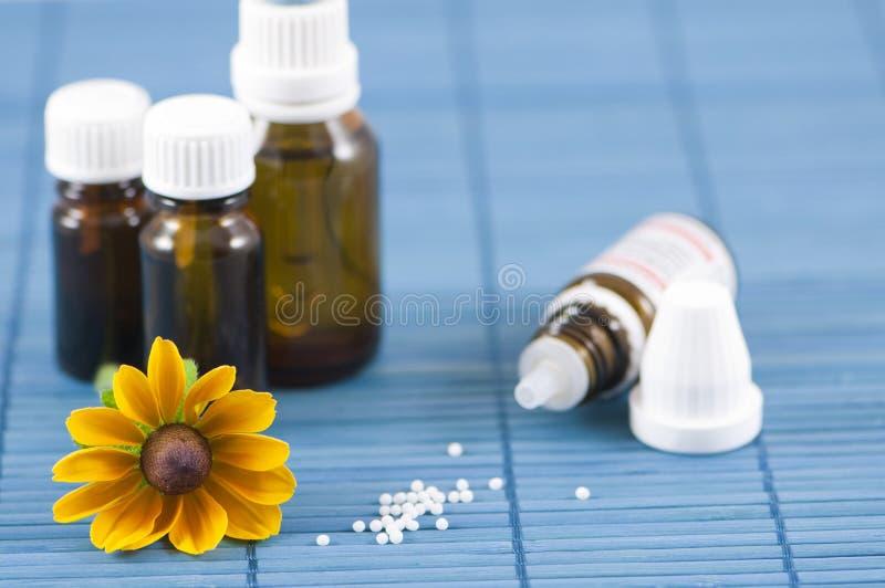 Alternativ medicin royaltyfri fotografi