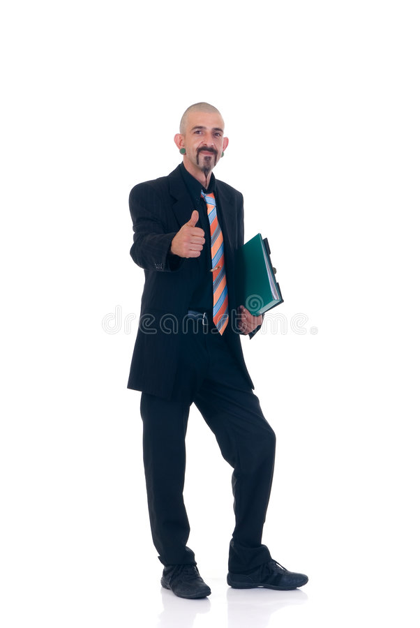 Alternative businessman royalty free stock photos