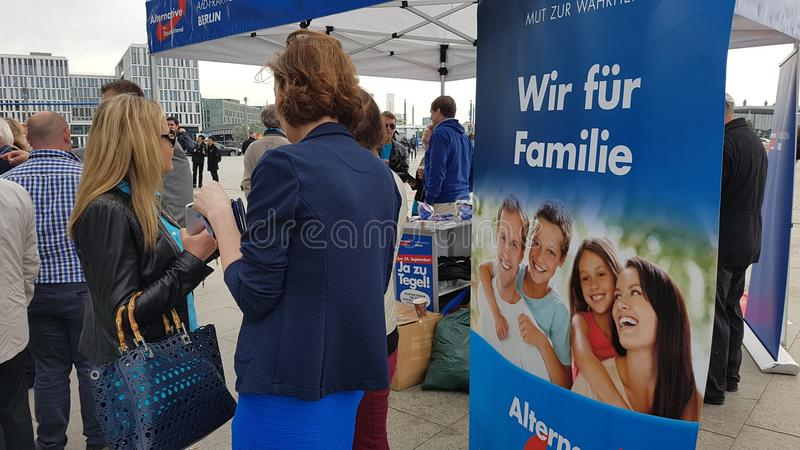 Alternative Deutschland royalty free stock photography