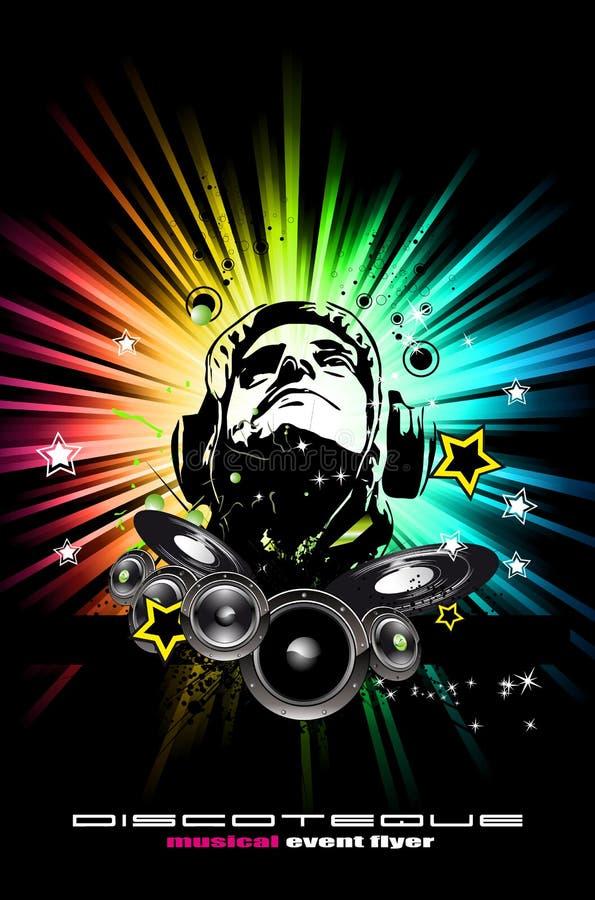 Download Alternative Discoteque Music Flyer Stock Vector - Image: 16539745