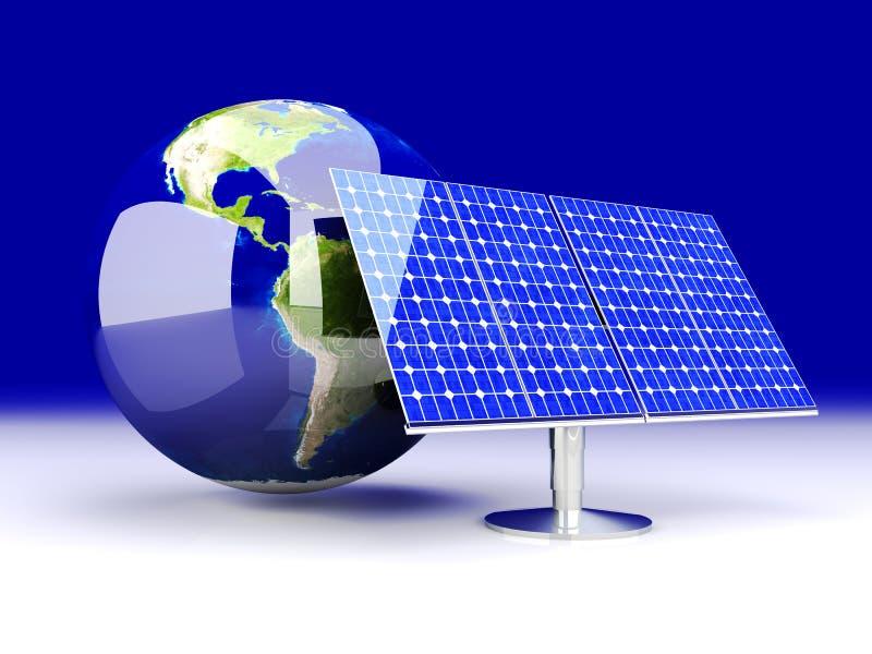 Alternative Energie - Amerika vektor abbildung
