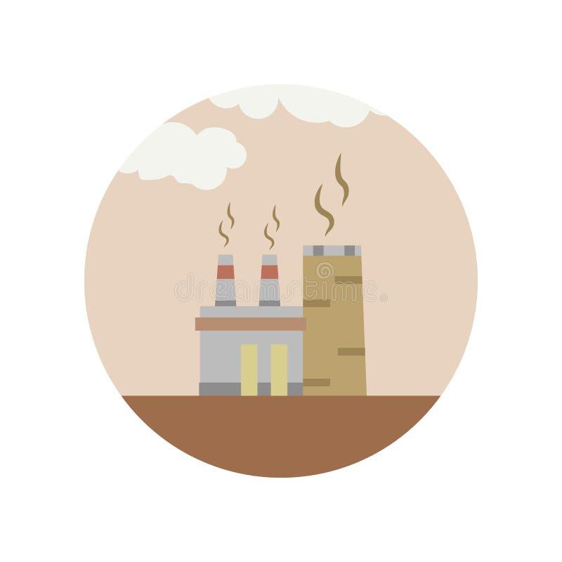 Alternative, Energie, Brennstoff, Anlage, Energiefarbikone Element der Illustration der globalen Erwärmung Zeichen und Symbolsamm vektor abbildung