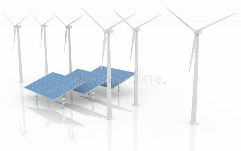 Alternative Energie-Konzept vektor abbildung