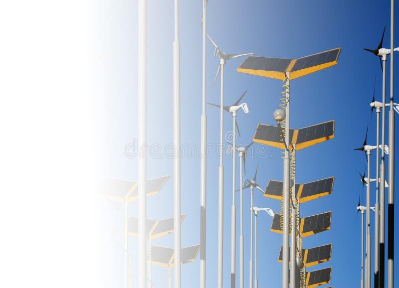 Alternative energy royalty free stock photography