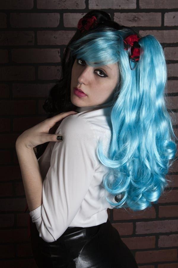 Alternative Female in Wig