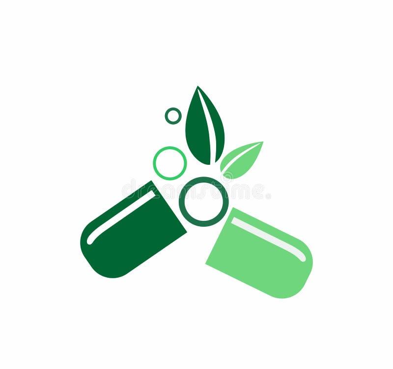 Alternative Medicine Logo Stock Vector. Illustration Of