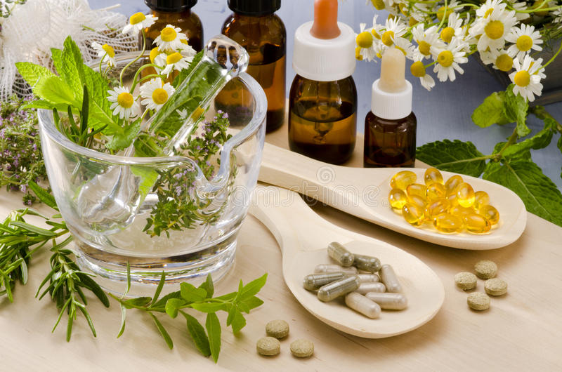Alternative Medicine. stock photography