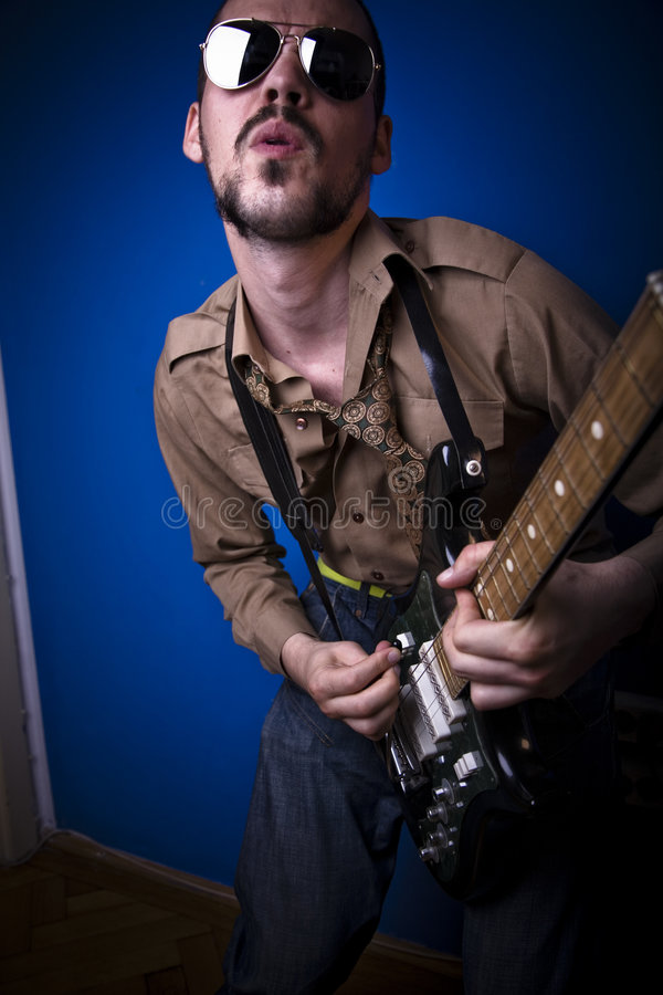 Download Alternative rocker stock photo. Image of play, riff, instrument - 2887984