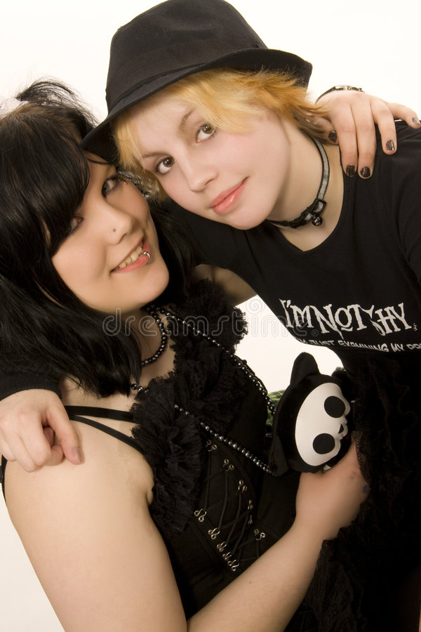 Download Alternative style girls stock image. Image of punk, alternative - 5224283