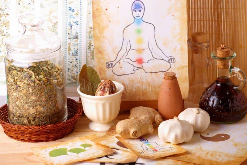 Alternative Therapie lizenzfreies stockbild