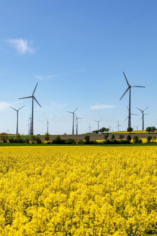 Alternativer Energiemix stockfotos