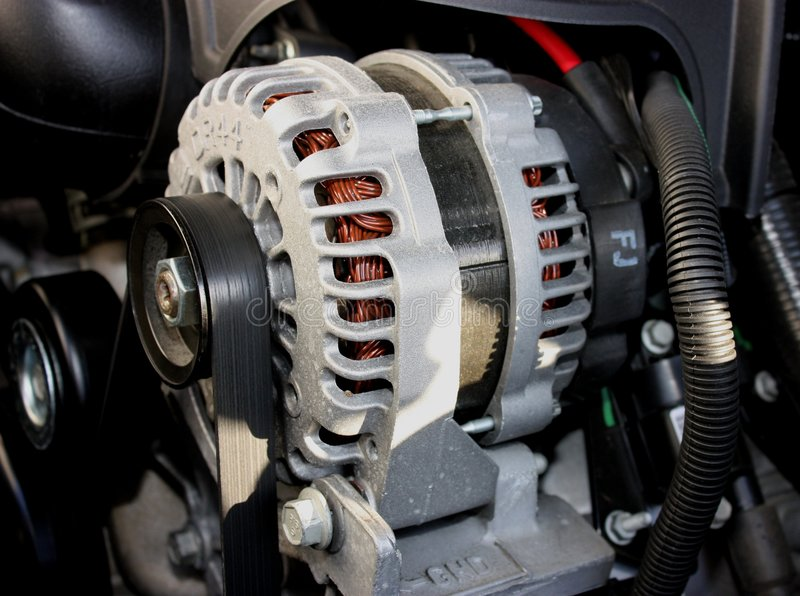 Download An Alternator stock image. Image of assembly, belt, pulley - 8258053