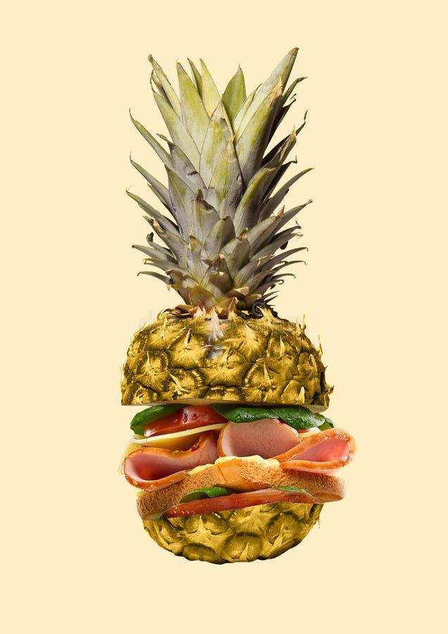 Alternatywny lunch nowoczesne projektu Dzisiejsza ustawa kola? zdjęcia royalty free