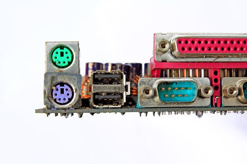 Alterndetail des Computers lizenzfreie stockfotografie