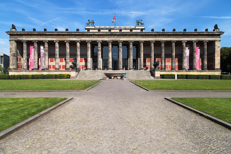 Altes博物馆 免版税库存照片