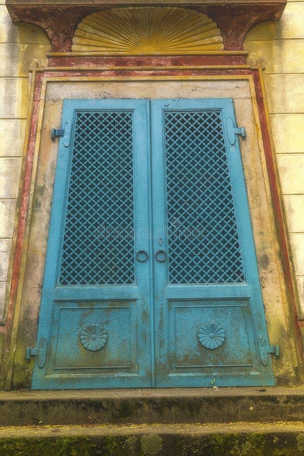 Altes ägyptisches Tor des Türkises lizenzfreie stockfotos