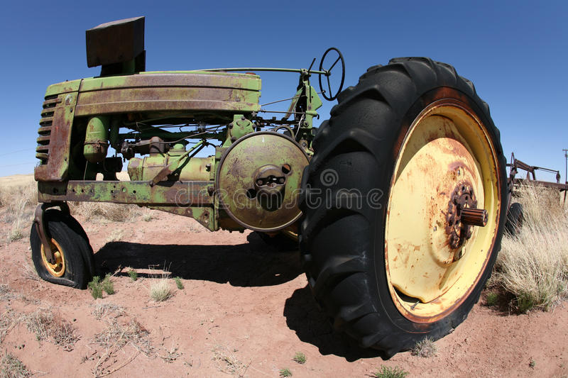 Altes agrimotor, Arizona, USA lizenzfreie stockfotografie