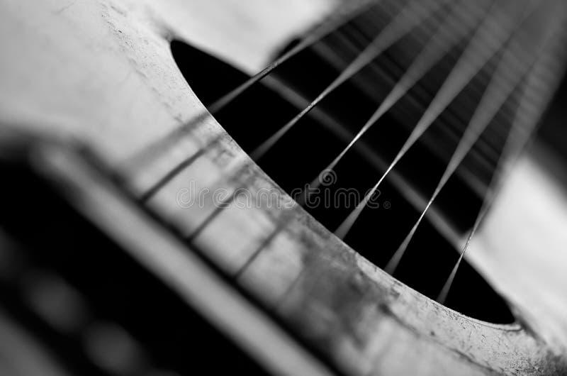 Altes akustisches lizenzfreies stockfoto