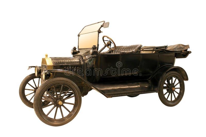 Altes altes Auto im Retrostil stockfotos