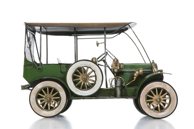 Altes antikes Auto stockfotos