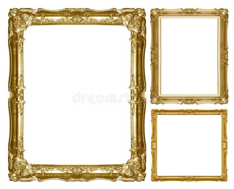 Altes antikes Goldfeld lizenzfreie stockfotos