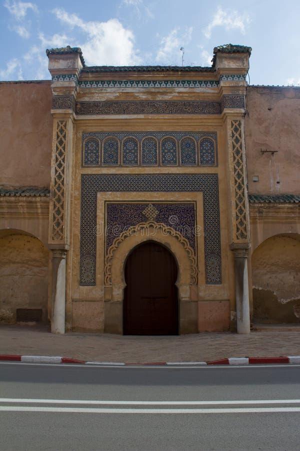 Altes arabisches Tor stockfotos