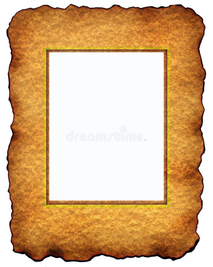 Altes Art und Weiseweinlese-Fotofeld vektor abbildung