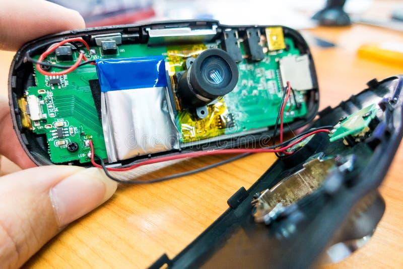Altes Batterieschwellen lizenzfreies stockfoto