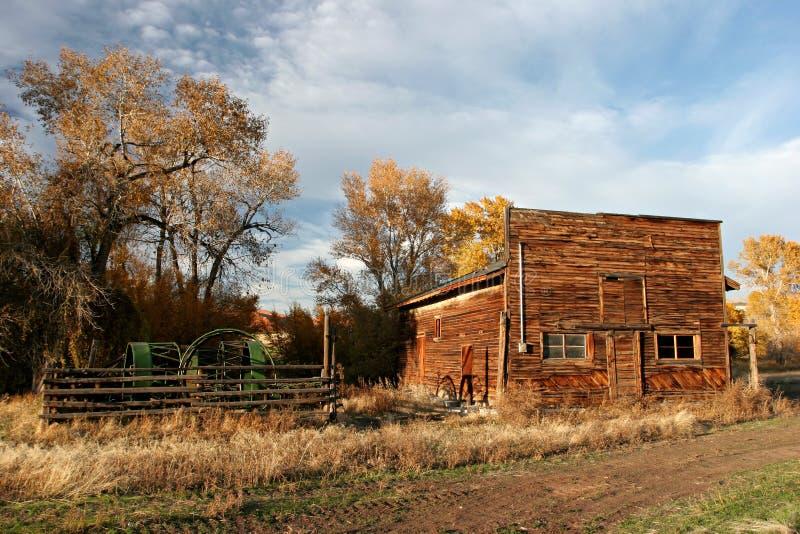 Altes Bauernhaus stockfotografie