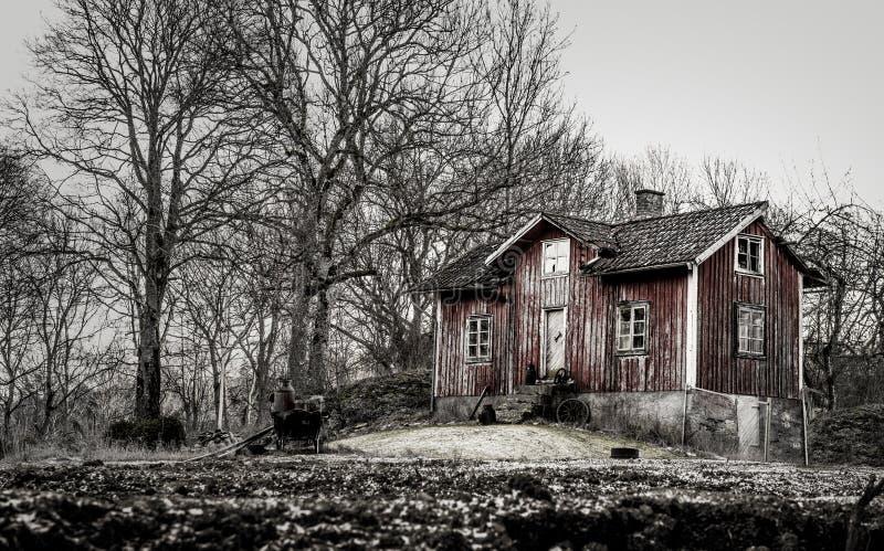 Altes Bauernhaus lizenzfreie stockfotografie