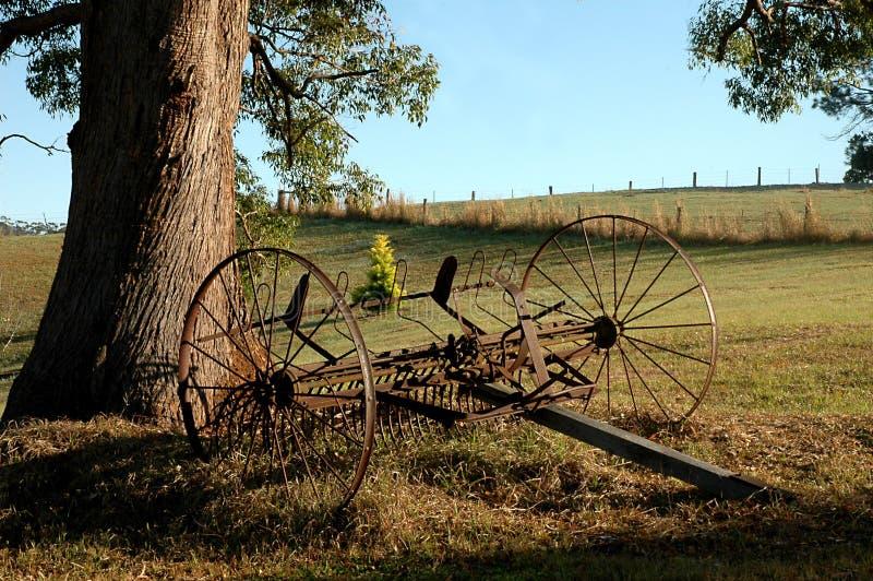 Altes Bauernhof-Werkzeug stockfoto