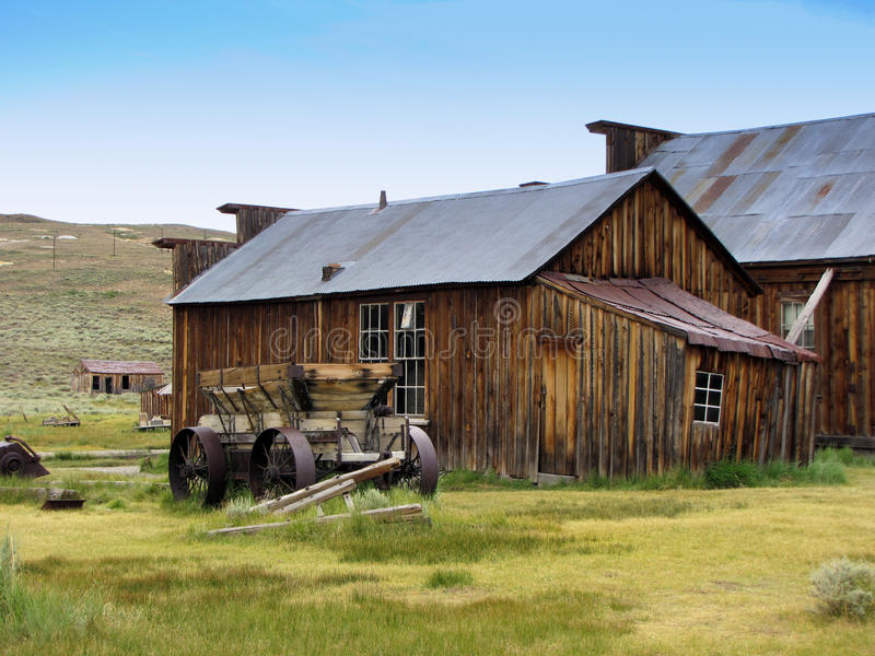 Altes Bauernhofhaus stockfoto