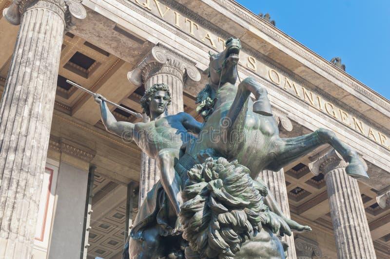 altes Berlin Germany muzeum stary zdjęcie stock