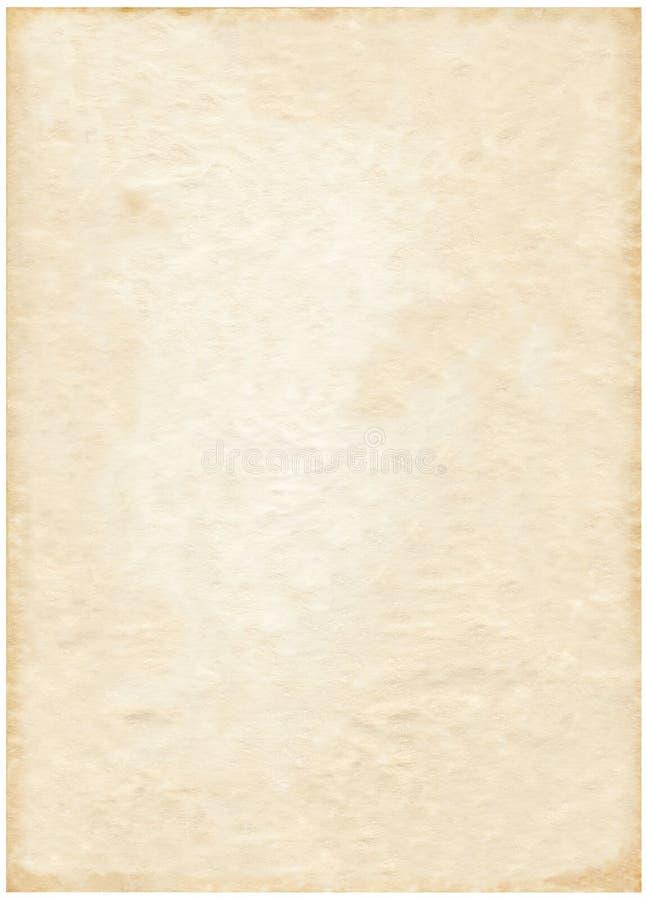 Altes Blatt Papier stockfotos
