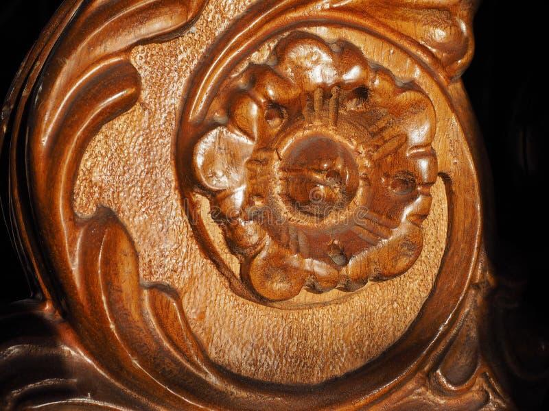 Altes boiserie Holz stockfoto