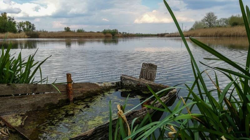 Download Altes Boot stockbild. Bild von serbien, nave, kanal, boot - 96927079
