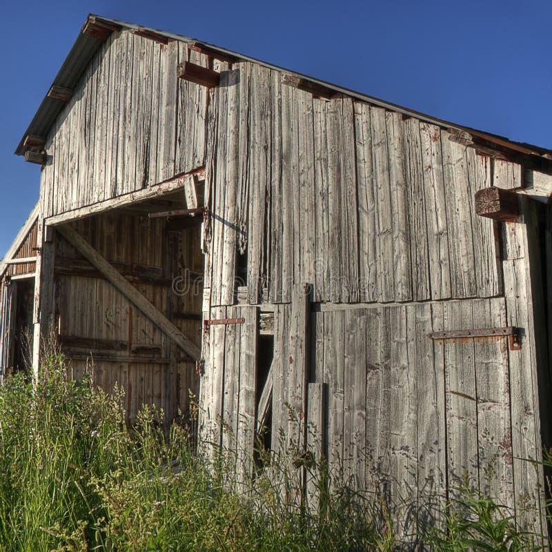Altes Bootshaus lizenzfreie stockfotografie