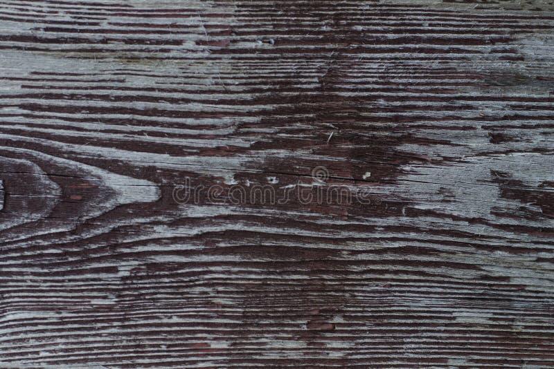 Altes Brett mit Schalenfarbe lizenzfreie stockbilder