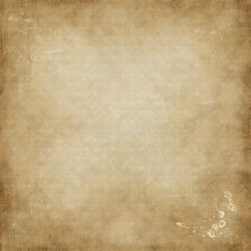 Altes Briefpapier stock abbildung