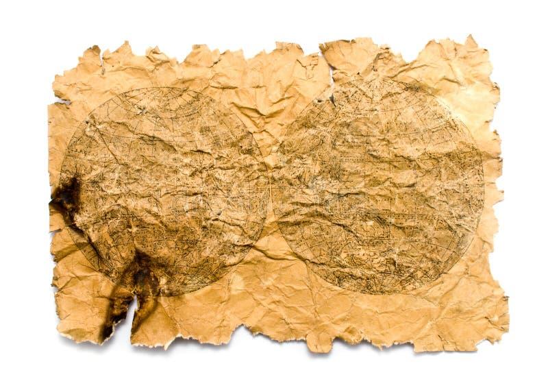 Altes bumagas bilden auf einem weißen Hintergrund ab lizenzfreie stockbilder