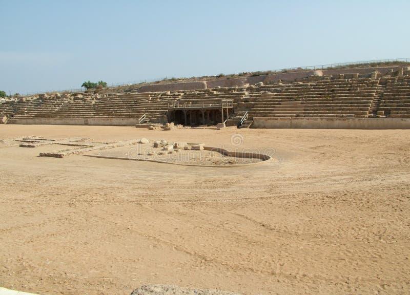 Altes Caesarea lizenzfreie stockfotos