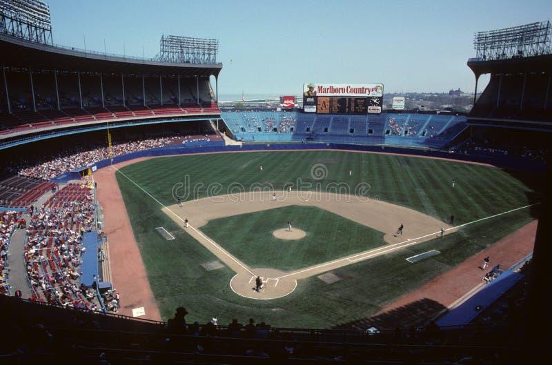 Altes Cleveland Stadium stockbilder