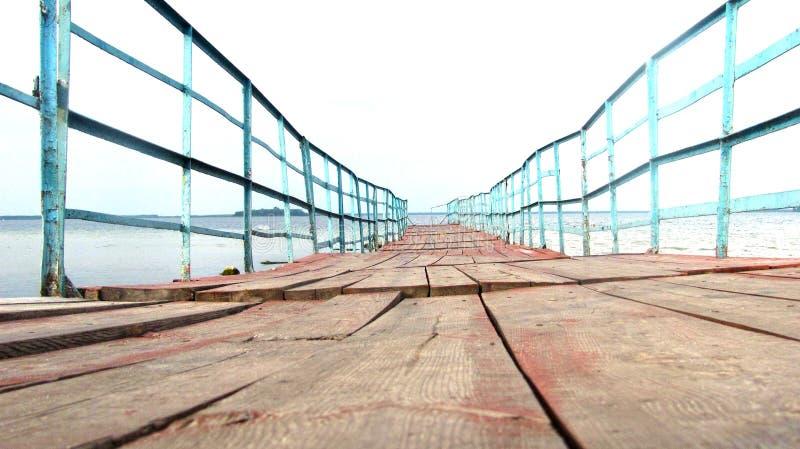 Altes Dock stockfoto