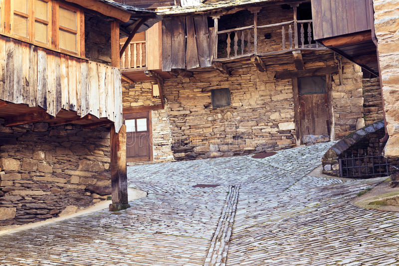 Altes Dorf stockfotos