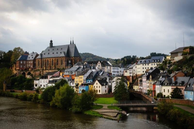 Altes Dorf in Deutschland stockfotografie