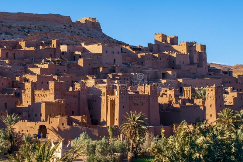 Altes Dorf Hilfe-Ben-Haddou in Marokko stockfotografie